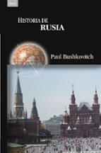 historia de rusia paul bushkovitch 9788446038702