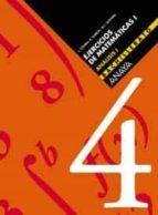 cuaderno ejercicios matematicas 4 (analisis i) (bachillerato) 9788466713702