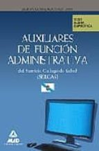 auxiliares de funcion administrativa del servicio gallego de salu d (sergas). test. parte especifica 9788467616002