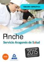 PINCHE DEL SERVICIO ARAGONÉS DE SALUD (SALUD- ARAGÓN). TEMARIO ESPECÍFICO.