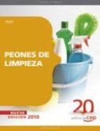 peones de limpieza. test 9788468105802