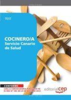 COCINERO/A DEL SERVICIO CANARIO DE SALUD
