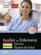 TECNICO/A EN CUIDADOS AUXILIARES DE ENFERMERIA: SERVICIO RIOJANO DE SALUD: TEST