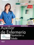 auxiliar de enfermeria: diputacion de toledo: test 9788468186702