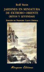 jardines en miniatura de extremo oriente: ritos y leyendas rolf stein 9788478134502