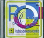 pro 1 2: prueba de rendimiento ortografico (cd rom) jose luis galve manzano 9788478697502