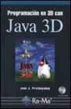 programacion en 3d con java 3d (incluye cd)-joan j. pratdepadua-9788478975402