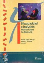 discapacidad e inclusion: manual para la docencia-miguel angel verdugo-9788481963502