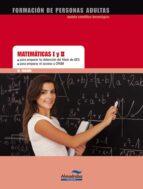 matematicas i y ii. acceso a ciclos formativos y ges-9788483088302
