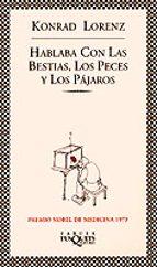 hablaba con las bestias, los peces y los pajaros (4ª ed.)-konrad lorenz-9788483106402
