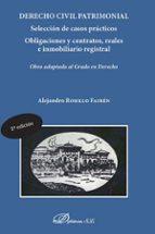 derecho civil patrimonial (2ª edición 2017)-alejandro rosillo fairen-9788491483502