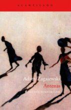 antenas adam zagajewski 9788496834002