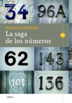 la saga de los numeros antonio cordoba 9788498926002