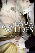 un error inconfesable-emma wildes-9788499895802