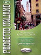 nuovo progretto italiano 3 quaderno degli esercizi 9789606930102