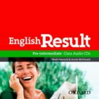 english result pre intermediate: class audio cds (2) mark hancock annie mcdonald 9780194305112