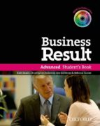 business result advanced: student s book with dvd-rom and online workbook pack-9780194739412