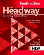 new headway elementary (4th ed.): teacher s book with resource di sc 9780194769112