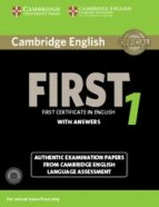 cambridge english first 1 for revised exam from 2015 student s book pack (student s book with answers and audio cds (2)) (fce 9781107663312