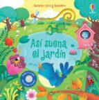 asi suena el jardin sam taplin 9781474918312