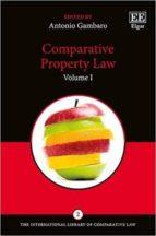 comparative property law-antonio gambaro-9781785362712