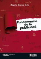 fundamentos de la publicidad begoña gomez nieto 9788416701612