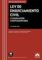 ley de enjuiciamiento civil y legislacion complementaria (16ª ed. )-9788417135812