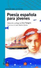 poesia española para jovenes ana maria pelegrin 9788420465012