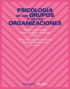 psicologia de los grupos de las organizaciones victoria zarco martin 9788436822212