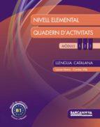 llengua catalana. nivell elemental. quadern d activitats-9788448932312