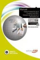 manual tarjeta profesional de la construccion (tpc): trabajos de demolicion y rehabilitacion: formacion para el empleo-marta sanchez gomez-9788468119212