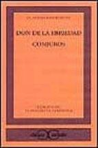 don de la ebriedad; conjuros-claudio rodriguez-9788470397912