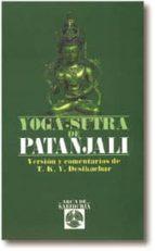 yoga sutra de patanjali t.k.v. desikachar 9788476407912
