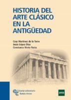 historia del arte clasico en la antiguedad cruz martinez de la torre 9788480049412