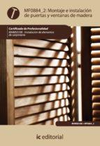 (i.b.d.)montaje e instalacion de puertas y ventanas de madera-esteban molina rodriguez-9788483646212