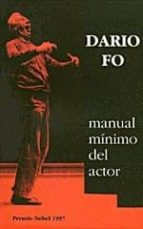 manual minimo del actor dario fo 9788489753112