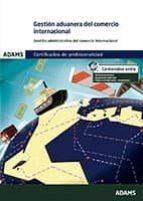 gestión aduanera del comercio internacional-9788490840412