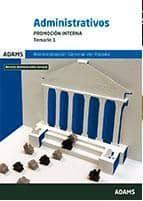 administrativos de la administracion del estado. promocion interna: temario 2 9788490843512