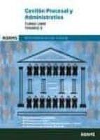 gestion procesal y administrativa turno libre temario 3 9788491471912