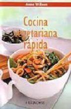 cocina vegetariana rapida-anne wilson-9788496048812