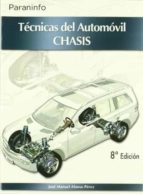 tecnicas del automovil chasis-jose manuel alonso perez-9788497326612
