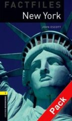 oxford bookworms library: oxford bookworms. factfiles stage 1: new york cd pack ed 08: 400 headwords 9780194235822
