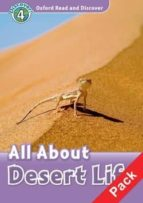 oxford read and discover 4: all about desert life audio pack wole soyinka 9780194644822