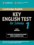 cambridge ket for schools 1: student s book with answers-9780521139922