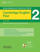 exam essentials: cambridge first practice tests 2 w/key + dvd-rom-9781285745022