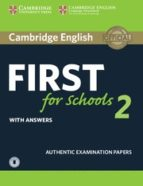 cambridge english: first (fce4s) for schools 2 student s book with answers & audio 9781316503522
