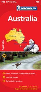 mapa australia 2012-9782067174122