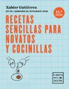 recetas sencillas para novatos y cocinillas-xabier gutierrez-9788408166122