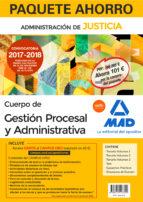 paquete ahorro gestión procesal y administrativa (turno libre). a horra 101 € (incluye temario volúmenes 1, 2 y 3; test; supuestos prácticos; simulacros examen y acceso campus oro) 9788414213322