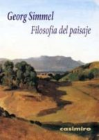 filosofia del paisaje-georg simmel-9788415715122